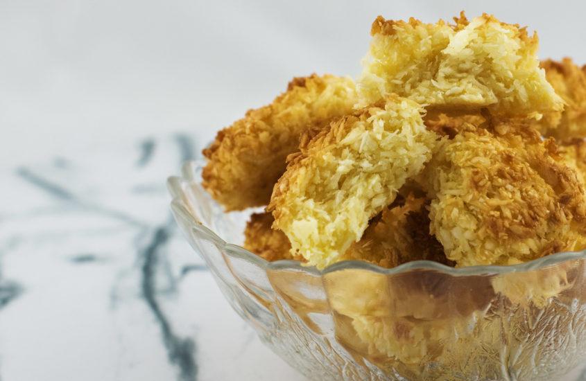 Най-лесните бисквити с кокос. Бързи и лесни кокоски