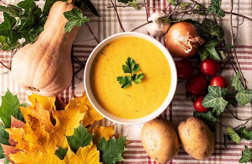 Лесна крем супа с тиква